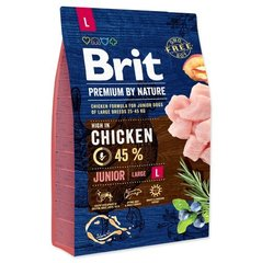Kuivtoit koertele Brit Premium By Nature Junior Large L, 15 kg цена и информация | Kuivtoit koertele Brit Premium By Nature Junior Large L, 15 kg | kaup24.ee