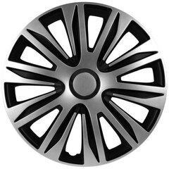 Ilukilbid Nardo silver and black, 4tk цена и информация | Колпаки | kaup24.ee