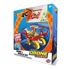 Игрушечный дрон + раллийный автомобиль Hot Wheels Bladez Racer, BTHW-D01