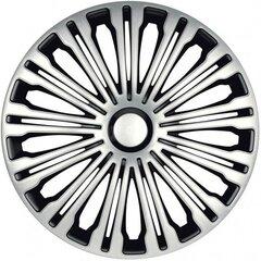 Ilukilbid Volante silver and black, 4 tk hind ja info | Ilukilbid | kaup24.ee