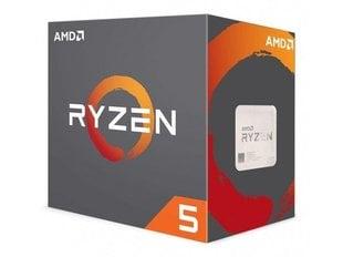 AMD Ryzen 5 1600X, 3.6GHz, 16MB (YD160XBCAEWOF) цена и информация | Процессоры (CPU) | kaup24.ee
