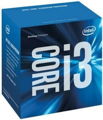 Intel Core i3-6100 3.7GHz, 3MB, BOX (BX80662I36100)