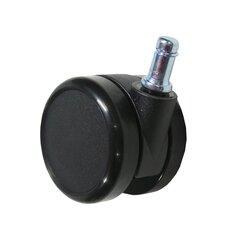 Kummist rattad, must, 65 mm