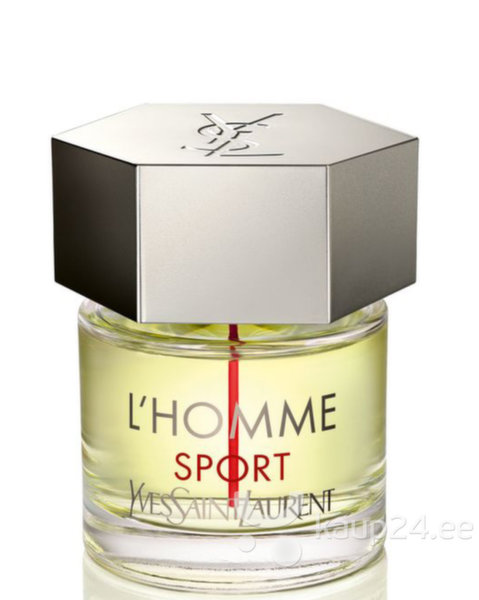 Туалетная вода Yves Saint Laurent L'Homme Sport edt 60 мл цена и информация | Meeste lõhnad | kaup24.ee