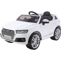 Laste elektriauto Audi Q7 12V, valge hind ja info | Elektrilised autod | kaup24.ee