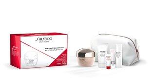 Näo nahahoolduse komplekt ShiseidoBenefiance WrinkleResist24: näokreem 50 ml 5 näovaht 30 ml + näolosjoon 30 ml + näoseerum 5 ml + silmakreem 3 ml + kosmeetikakott hind ja info | Näokreemid | kaup24.ee
