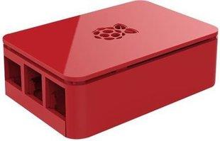 Raspberry Foundation Case do Raspberry Pi 3B / B+, punane