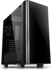 Thermaltake View 21 Tempered Glass Edition, juodas (CA-1I3-00M1WN-00)