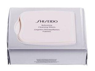 Värskendavad salvrätikud näole Shiseido Refreshing Cleansing Sheets, 30 tk hind ja info | Värskendavad salvrätikud näole Shiseido Refreshing Cleansing Sheets, 30 tk | kaup24.ee