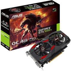 Asus GeForce GTX 1050 Ti Cerberus OC 4GB GDDR5 (128 Bit) DVI-D, HDMI, DisplayPort, BOX (CERBERUS-GTX1050TI-O4G)