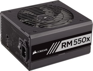 Corsair RMx Series RM550x 550W, 80 PLUS Gold, modulinis, 140mm