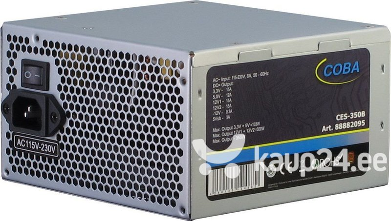 Inter-Tech 350W Coba CES-350B 80+ (88882095) Internetist