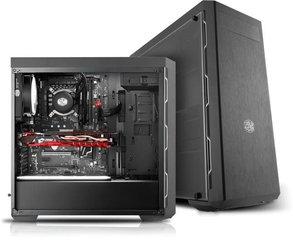Korpus Midi CoolerM.MasterBox MB600L gunm. hind ja info | Korpus Midi CoolerM.MasterBox MB600L gunm. | kaup24.ee