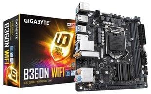GIGABYTE B360N WIFI hind ja info | GIGABYTE B360N WIFI | kaup24.ee