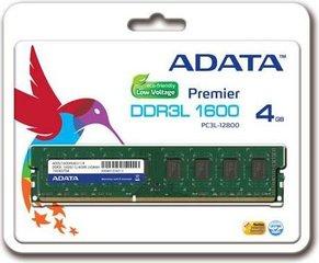 ADATA Premier 4GB 1600Mhz DDR3L CL11 U-DIMM 1.35V (ADDU1600W4G11-S)
