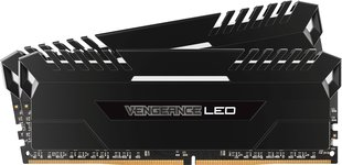 Corsair Vengeance LED DDR4, 2x16GB, 3000MHz, CL16 (CMU32GX4M2C3000C16)