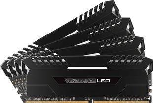 Corsair Vengeance LED DDR4, 4x8GB, 3200MHz, CL16, White (CMU32GX4M4D3200C16)
