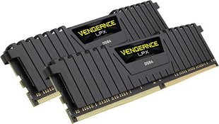 Corsair Vengeance LPX DDR4, 8GB(2x4GB), 2133MHz, CL13, Black (CMK8GX4M2A2133C13)