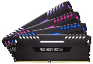 Corsair Vengeance RGB DDR4, 4x16GB, 3333MHz, CL16 (CMR64GX4M4C3333C16)