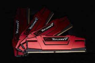 G.Skill Ripjaws V DDR4, 4x4GB, 2800MHz, CL15 (F4-2800C15Q-16GVRB)