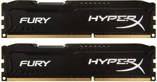 HyperX Fury DDR3-1600 CL10 8GB (HX316C10FBK2/8)