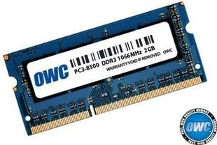 OWC SO-DIMM DDR3 8GB 1600MHz CL11 Low Voltage Apple Qualified (OWC1600DDR3S8GB) hind ja info | Operatiivmälu (RAM) | kaup24.ee