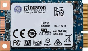 Kingston SUV500MS 120GB mSATA (SUV500MS/120G) hind ja info | Kingston SUV500MS 120GB mSATA (SUV500MS/120G) | kaup24.ee