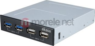 Akasa Panel USB 3.0 Black AK-ICR-12V3