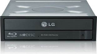 LG Internal Blu-Ray DVD Combo Black optical disc (CH12NS40.AUAU10B)