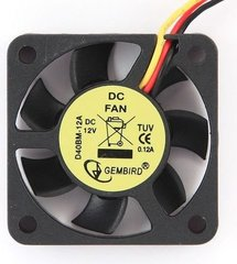 Gembird 40 mm ball bearing cooling fan, 12 V (D40BM-12A)