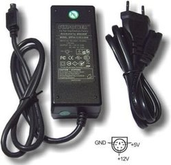 """Aixcase Power adapter for 3.5"""" and 5"""" drives (AIX-PS34-6PIN)"""