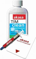Akasa Thermal Paste AK-455 + TM clean for CPU & Heatsinks (AK-MX004) hind ja info | Komponentide tarvikud | kaup24.ee