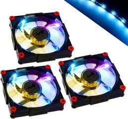 IN-WIN Fan 3x 120mm, Aurora RGB LED