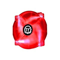 Thermaltake Fan - Pure 20 LED Red (200mm, 800 RPM) BOX (CL-F032-PL20RE-A)