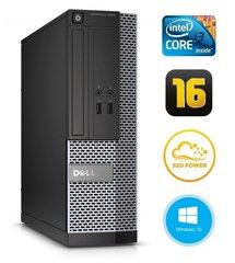 Dell 3020 SFF i3-4130 16GB 120SSD DVDRW WIN10Pro цена и информация | Dell 3020 SFF i3-4130 16GB 120SSD DVDRW WIN10Pro | kaup24.ee