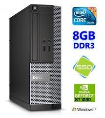 Dell 3020 SFF i3-4130 8GB 120SSD GT1030 2GB DVDRW WIN7Pro