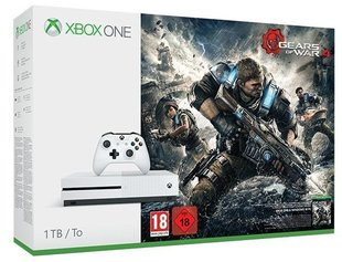 Mängukonsool Microsoft Xbox One S 1TB + Gears Of War 4