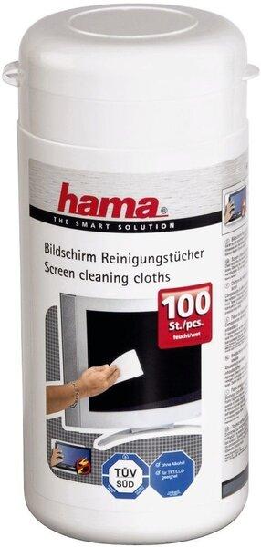 Ekraani puhastuslapid purgis Hama, 100 tk