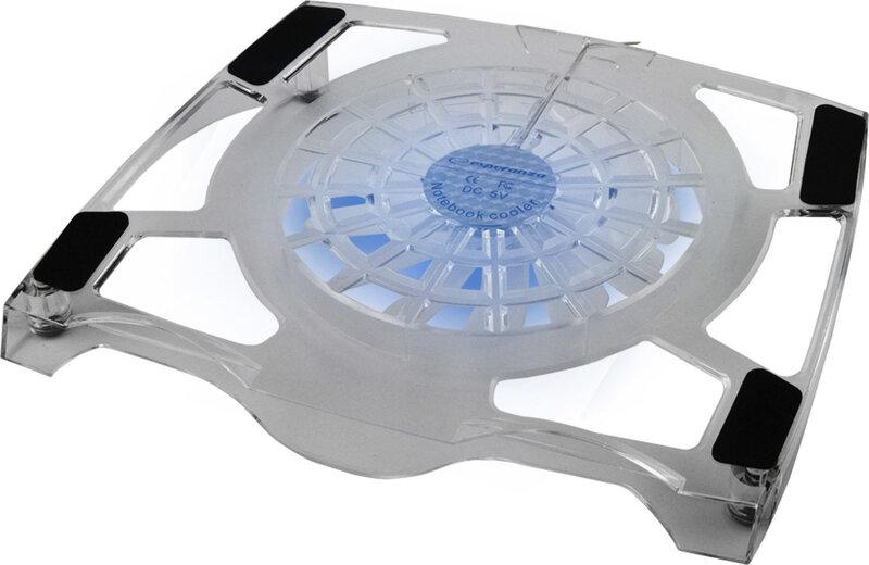 "Arvuti jahutusalus ventilaatoriga Esperanza EA105, 15,6""-17"""