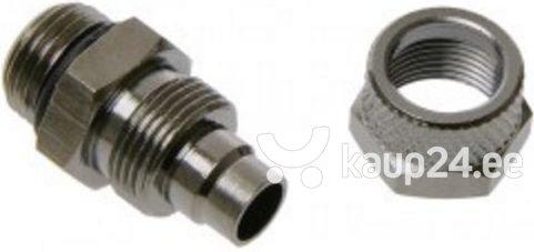Alphacool Fitting 1/4 inch to 11/8 mm - Black Nickel-plated (62112) интернет-магазин