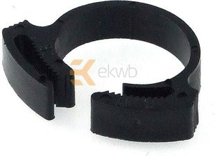 EK Water Blocks Tube PVC Clamp 17 - 19mm Black (3830046998545)