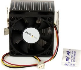 StarTech 60x65mm Socket A CPU Cooler Fan with Heatsink for AMD Duron or Athlon (FANDURONTB)