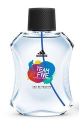 Tualettvesi Adidas Team Five EDT meestele 100 ml