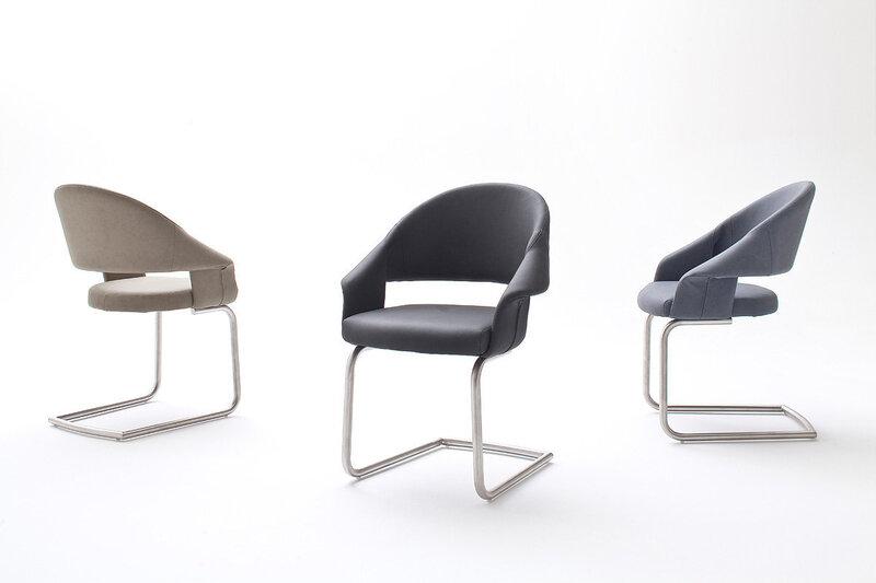 Комплект из 2 стульев Paleo, темно-серый