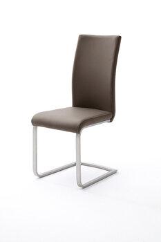 Комплект из 4 стульев Paulo 1, темно-коричневый