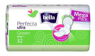 BELLA ULTRA hügieenisidemed Perfecta Green 32tk