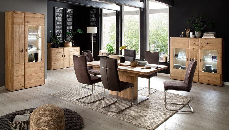 Комплект из 2 стульев Giulia C, искусственная кожа и гобелен, темно-серый