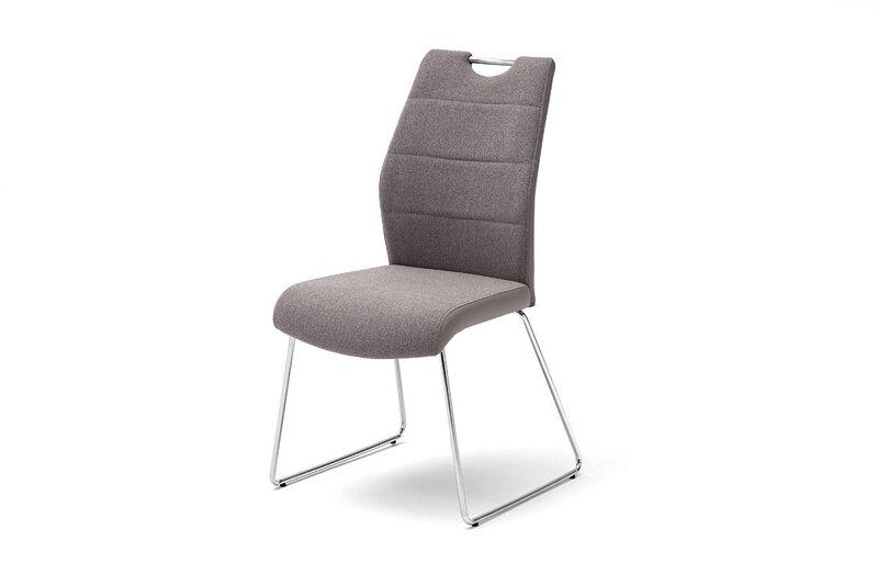 Комплект из 2 стульев, Silvica A-3, серый
