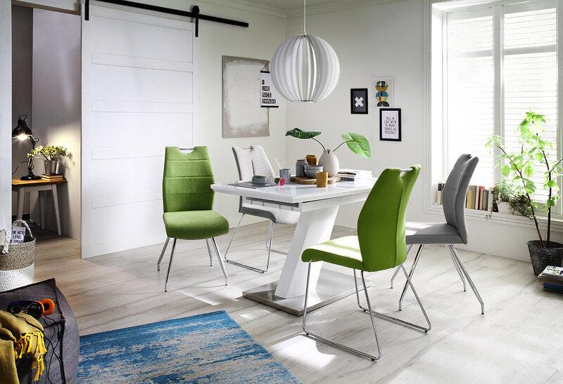Комплект из 2 стульев Silvica A-3, светло-серый
