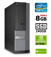 DELL 3020 SFF i5-4570 8GB 240SSD GT1030 2GB DVDRW WIN10Pro